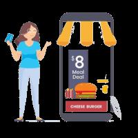 Caisse restaurant click & collect disponible avec Commercill dans le 13