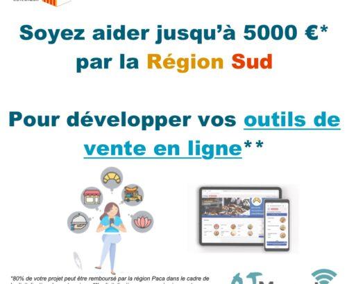 Une aide de la Région Sud pour développer la vente en ligne